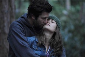 "David Nordstrom and Megan Boone in a scene from Adele Romanski's film ""Leave Me Like You Found Me"""