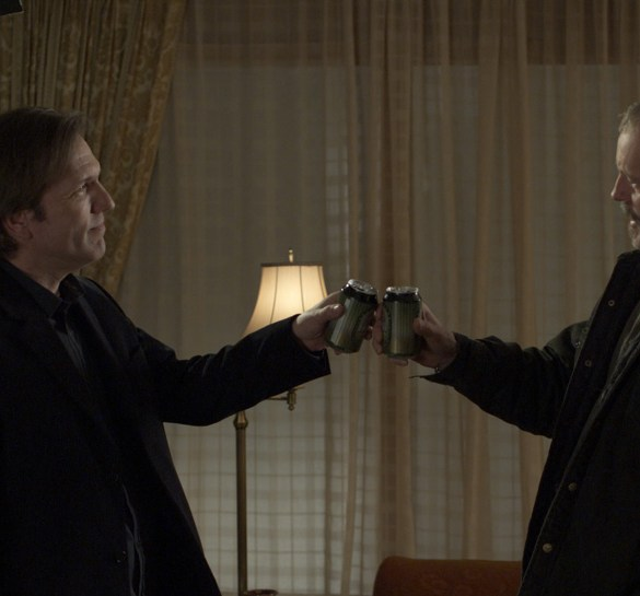 Martin Donovan and David Morse in Collaborator