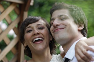 Rashida Jones and Andy Samberg in Lee Toland Krieger's film Celeste and Jesse Forever