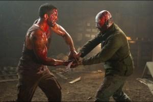"Scott Adkins and Jean Claude Van Damme in John Hyams' film ""Universal Soldier: Day of Reckoning"""