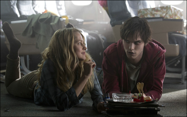 Teresa Palmer and Nicholas Hoult in Jonathan Levine's adaptation of Isaac Marion's Warm Bodies