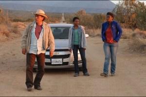 Edward James Olmos, Lisa Gay Hamilton and Yolonda Ross in John Sayles' movie Go For Sisters