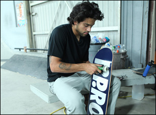 "Paul Rodriguez in a scene from Adam Bhala Lough's ""The Motivation"""