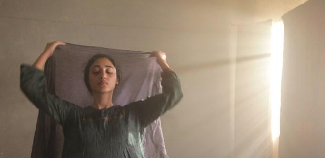 "Golshifteh Farahani in Atiq Rahimi's film ""The Patience Stone"""