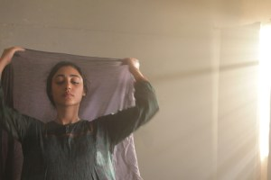 "Golshifteh Farahani in Atiq Rahimi's film ""The Patience Stone"""