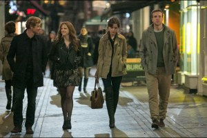 """Simon Baker, Anna Faris, Rose Byrne and Rafe Spall in Dan Mazer's comedy """"I Give It a Year"""""""
