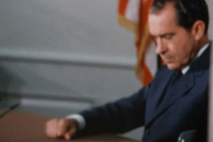"Richard Nixon in Penny Lane's ""Our Nixon"""