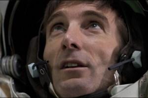 Sharlto Copley as an astronaut in a scene from Sebastian Cordero's science fiction film Europa Report
