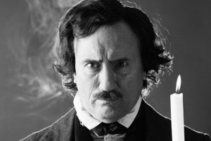 "Jeffrey Combs as Edgar Allan Poe in Stuart Gordon's ""Nevermore"""