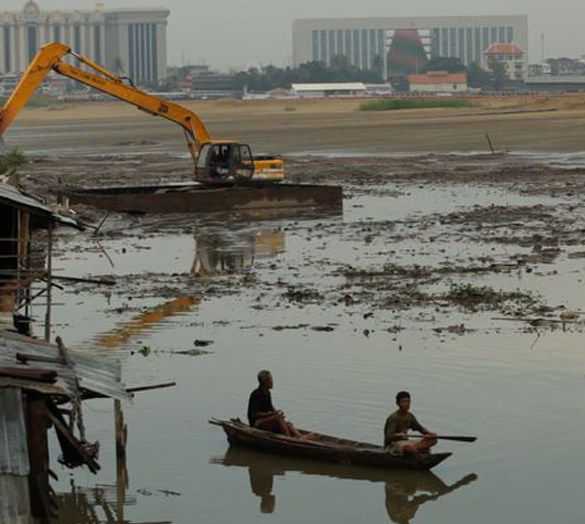 """Cambodia in Kalyanee Mam's """"A River Changes Course"""""""