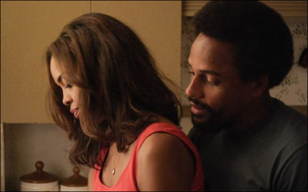 "Sharon Leal and Hill Harper in Tommy Oliver's film ""1982"""