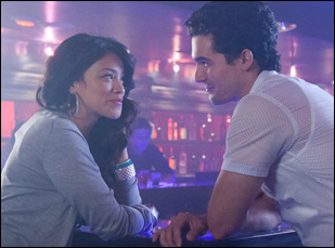 "Steven Strait and Gina Rodriguez in ""Sleeping With the Fishes"""