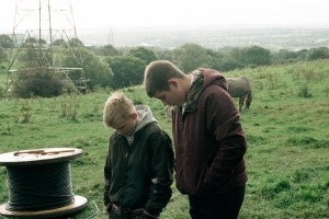 "Connor Chapman and Shaun Thomas in ""The Selfish Giant"""