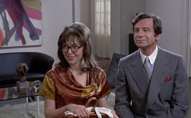 "Elaine May and Walter Matthau in ""A New Leaf"""