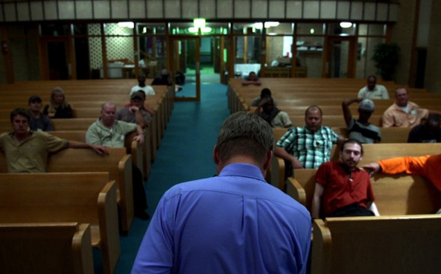 "Jay Reinke in Jesse Moss' ""The Overnighters"""