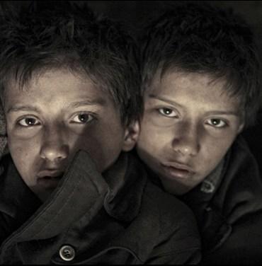 """András and László Gyémánt in Janos Szasz's """"The Notebook"""""""