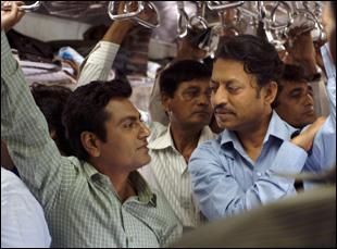 "Nawazuddin Siddiqui and Irrfan Khan in ""The Lunchbox"""