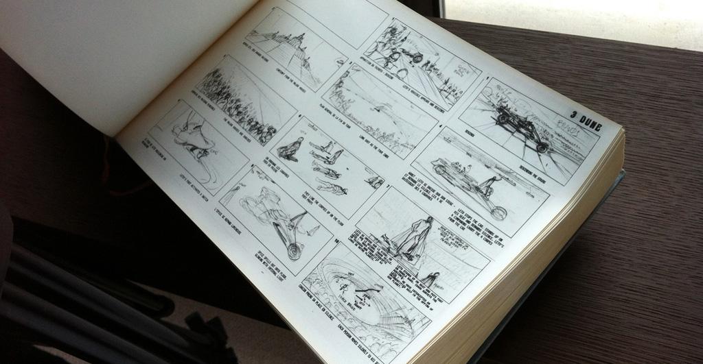 "Sketchbook from ""Jodorowsky's Dune"""