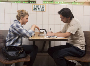 """Nina Arianda and Ray Romano in """"Rob the Mob"""""""