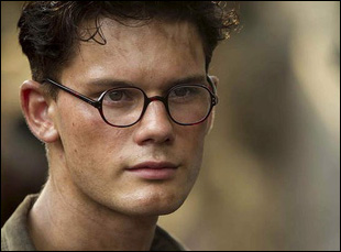 "Jeremy Irvine in ""The Railway Man"""