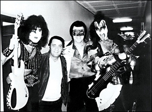 Kiss' Paul Stanley and Gene Simmons with Orion in Jeanie Finlay's Orion