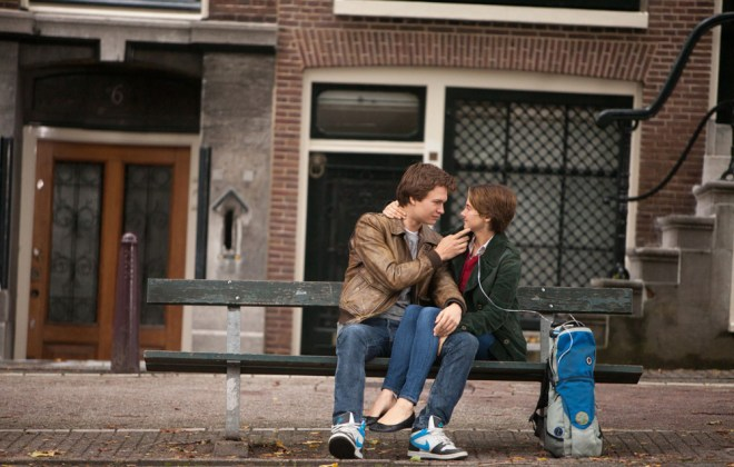 "Ansel Eigort and Shailene Woodley in ""The Fault in Our Stars"""