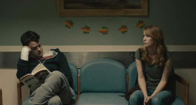"Bill Hader and Kristen Wiig in ""The Skeleton Twins"""