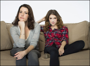 "Melanie Lynskey and Anna Kendrick in ""Happy Christmas"""