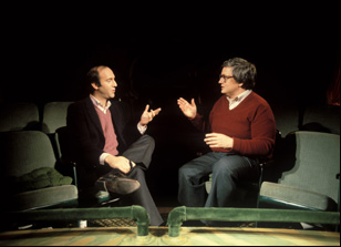 "Gene Siskel and Roger Ebert in ""Life Itself"""