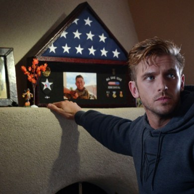 "Dan Stevens in ""The Guest"""