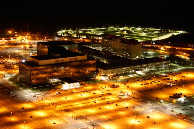 Trevor Paglen shot of the NSA.