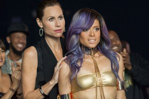 "Minnie Driver and Gugu Mbatha-Raw in ""Beyond the Lights"""