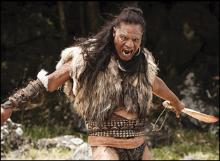 "Lawrence Makoare in ""The Dead Lands"""