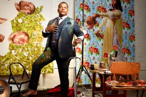 "Kehinde Wiley in ""Kehinde Wiley: An Economy of Grace"""