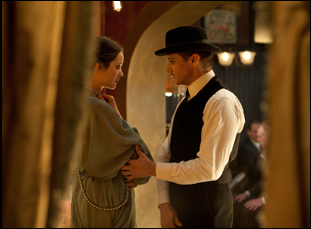 "Jeremy Renner and Marion Cotillard in ""The Immigrant"""