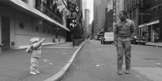 "Nicole Alysia and Charles Lane in ""Sidewalk Stories"""