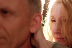 "Patricia Clarkson and Aidan Devine in ""October Gale"""