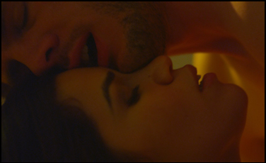 "Ryan Piers Williams and America Ferrera in ""X/Y"""