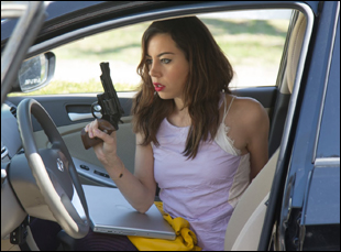 "Aubrey Plaza in ""Ned Rifle"""