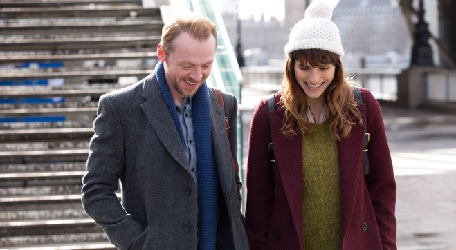 """Simon Pegg and Lake Bell in """"Man Up"""""""