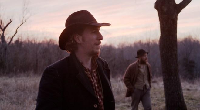 "Tim Morton and David Maloney in ""Men Go to Battle"""