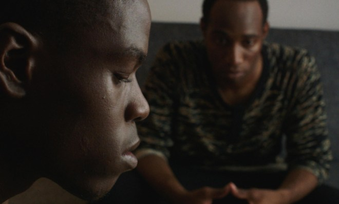 """Curtiss Cook Jr. and Kerwin Johnson Jr. in """"Naz and Maalik"""""""