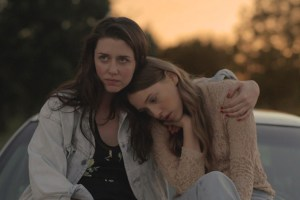 "Zoe Worth and Sarah Sutherland in ""Shut Up and Drive"""