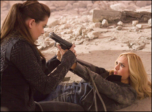 "Hailee Steinfeld and Jessica Alba in ""Barely Lethal"""