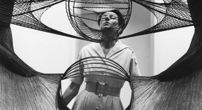 "Peggy Guggenheim in ""Peggy Guggenheim: Art Addict"""