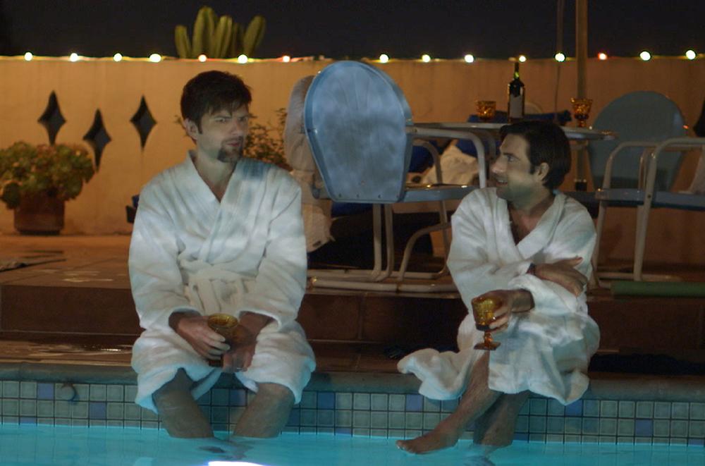 """Adam Scott and Jason Schwartzman in """"The Overnight"""""""
