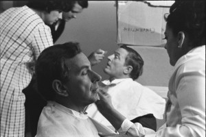 "William F. Buckley and Gore Vidal in ""Best of Enemies"""
