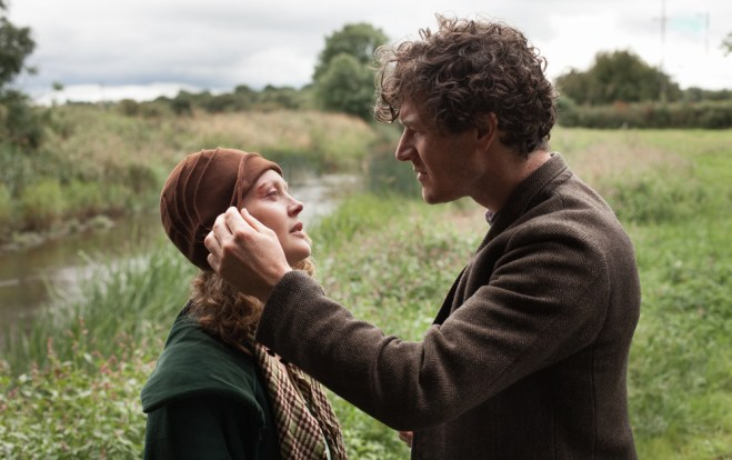 """Simone Kirby and Barry Ward in """"Jimmy's Hall"""""""