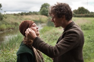 "Simone Kirby and Barry Ward in ""Jimmy's Hall"""