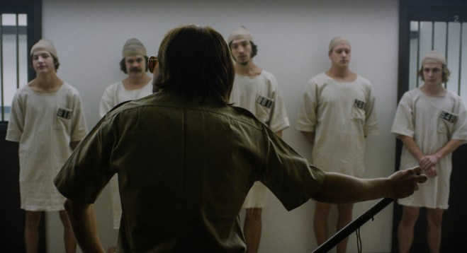 """A scene from """"Stanford Prison Experiment"""""""